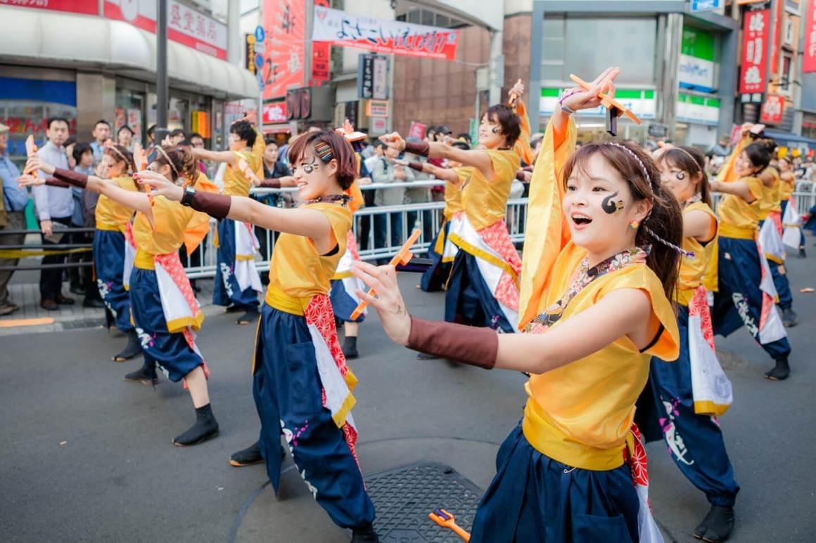 Fukuro Matsuri Sebuah Festival Meriah Dalam Distrik Ikebukuro
