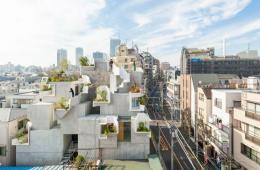 Gedung Futuristik Dengan Desain Struktur Pohon