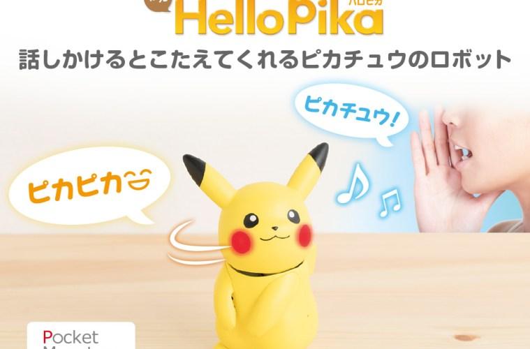 Berinteraksi Dengan Pikachu Melalui Produk HelloPika