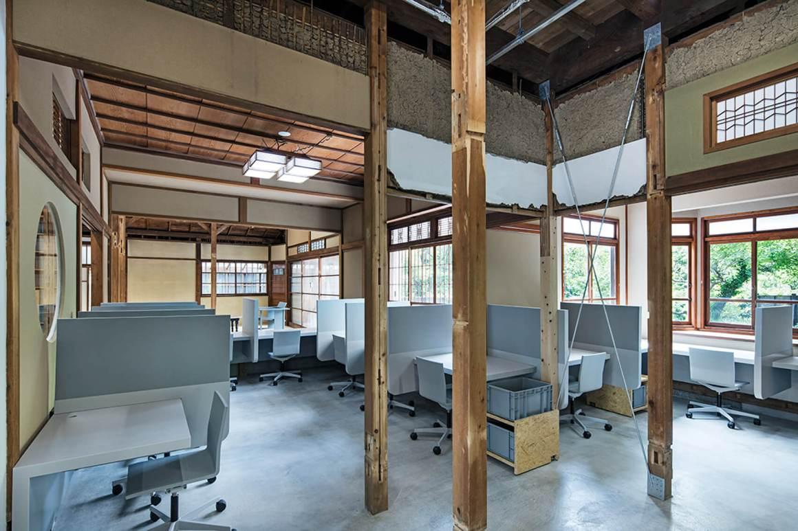 Desain Arsitektur Kantor Menggunakan Rumah Tradisional artforia arsitektur Jepang31