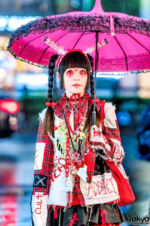 Gaya Punk Gothic Oleh Yukachin Dalam Harajuku Fashion Jepang
