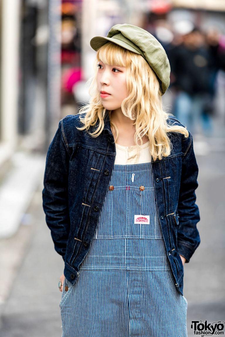 Gaya Vintage Denim Bersama Honoca Dalam Harajuku Fashion Jepang