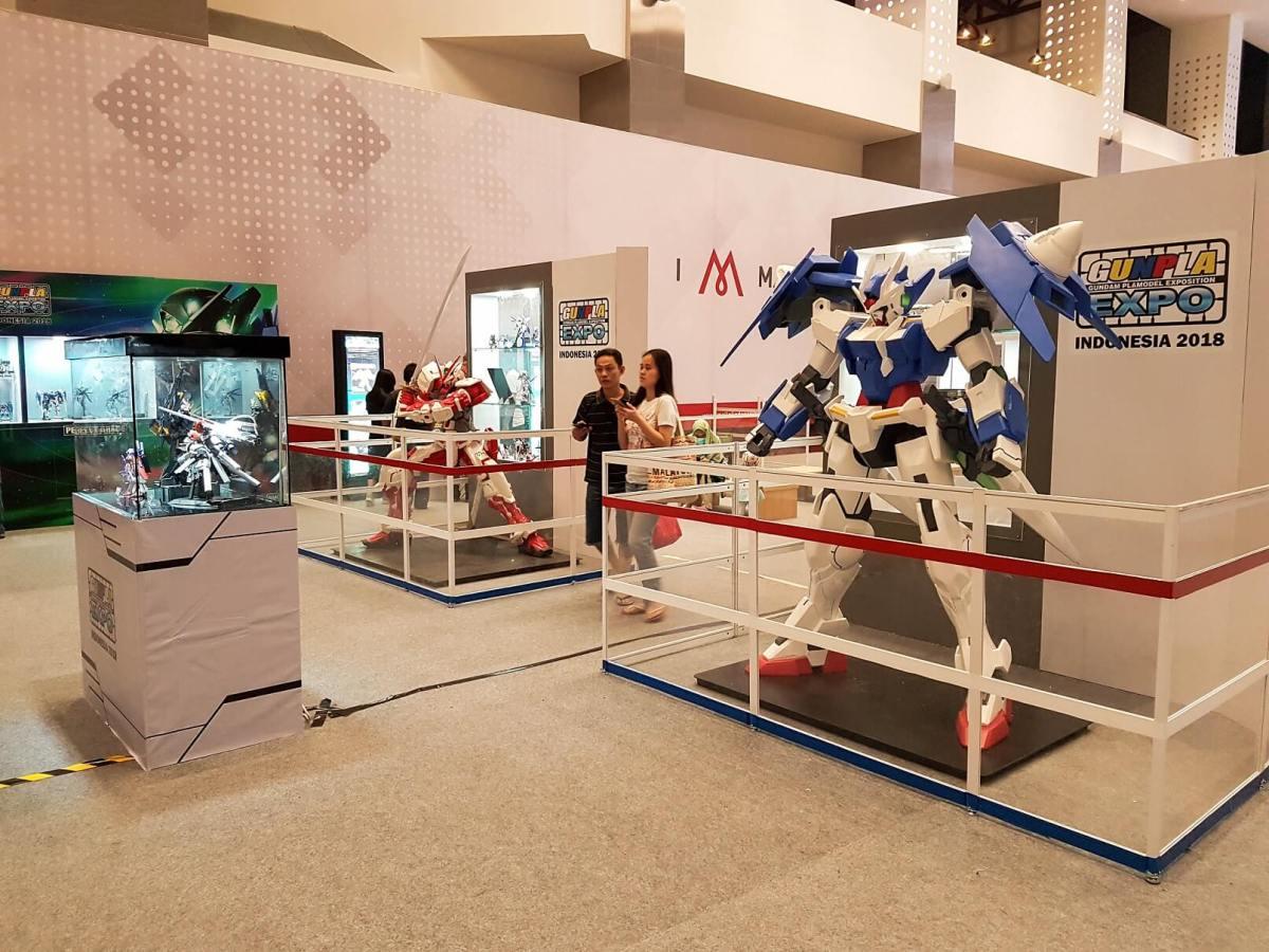 Hadiri Gunpla Expo Indonesia 2018 Di Mall of Indonesia
