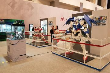 Hadiri Gunpla Expo Indonesia 2018 Di Mall of Indonesia