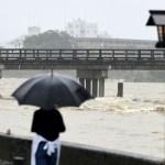 Cuaca Buruk Sedang Melanda Bagian Barat Dan Tengah Pulau Honshu Jepang
