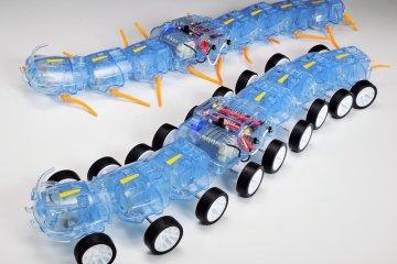 Perusahaan Tamiya Ciptakan Robot Lipan Dengan Gerakan Unik