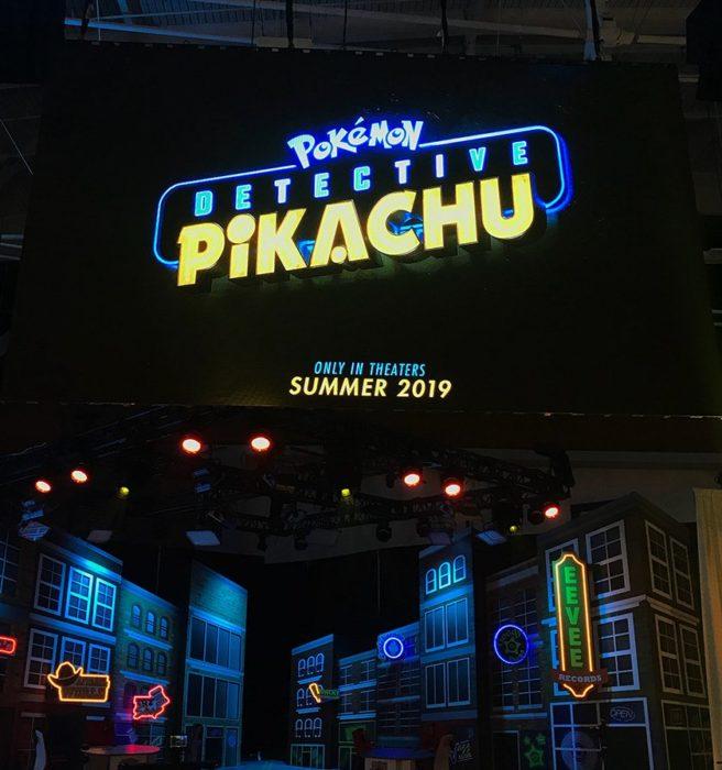 Film Live Action Detective Pikachu Dapatkan Teaser Logo