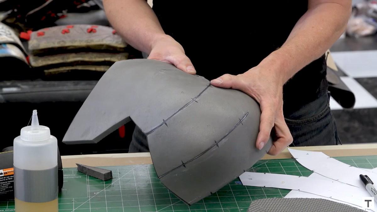 Langkah Membuat Armor Helm Untuk Cosplay Dengan Busa 2