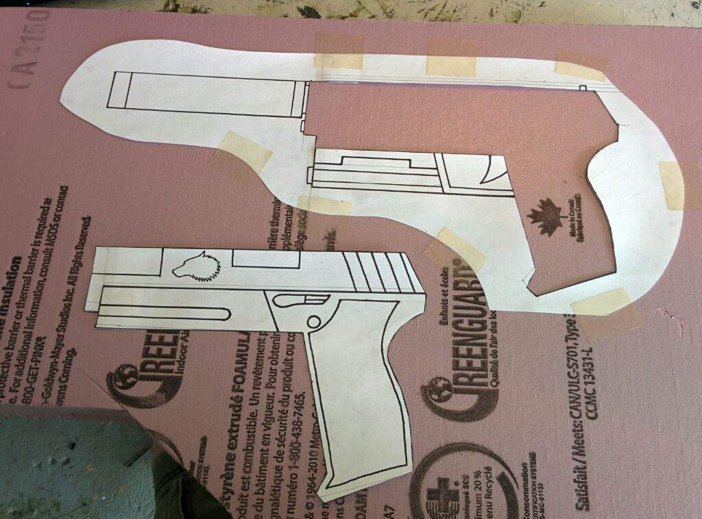 Langkah Mudah Membuat Replika Senjata Pistol Untuk Cosplay 2