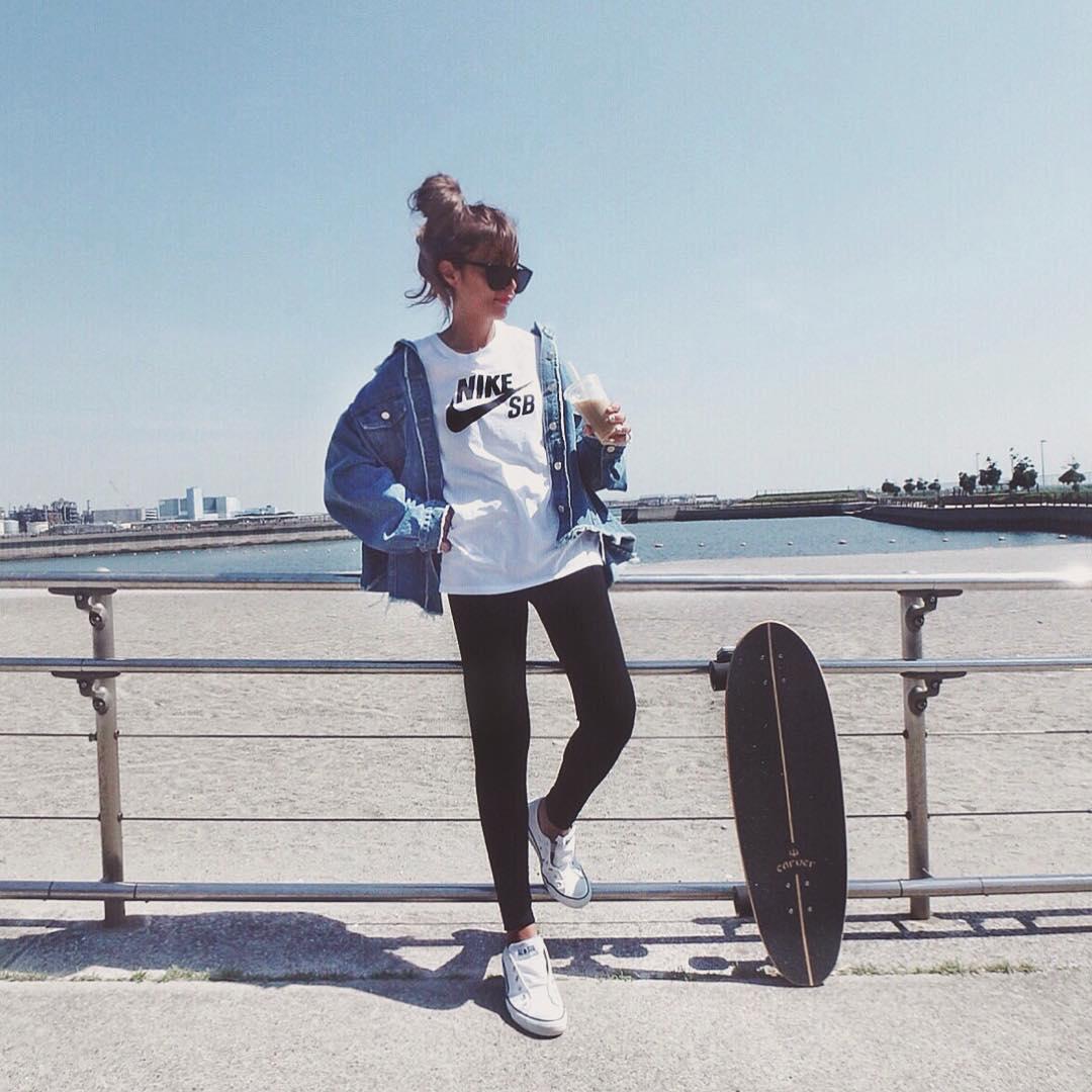 Sporty Trend Fashion Jepang 2018 Untuk Wanita