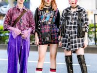 Trio Harajuku Girl Tampil Dengan Mode Edgy Street Style Fashion Jepang featured Image