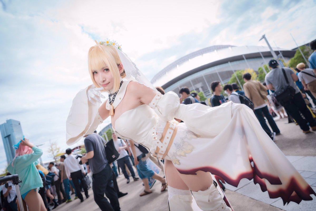 Ini Dia Kemeriahan Cosplay Dalam Tokyo Game Show 2018 !