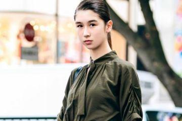 Hanya Dengan Jumpsuit Dipadukan Dengan Sepatu Bot, Jayce Model Fashion Jepang Tampil Memukau Di Harajuku 5