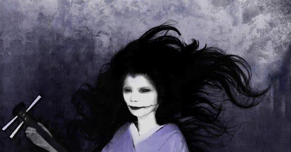 Hati-Hati Yang Suka Nonton Film Horor Jepang ! Hantu Ini Benar-Benar Nyata 9