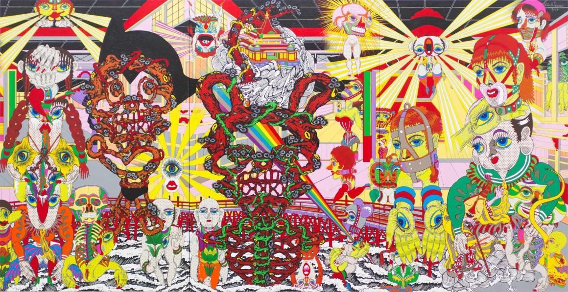 Seniman Berbakat Pascaperang Jepang, Seniman Jepang Keiichi Tanaami Yang Sukses Menggebrak Dunia !