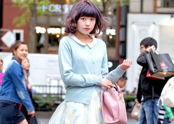 Madoka Padukan Harajuku Fashion Dengan Warna Pastel Yang Membuatnya Tampil Kawai!