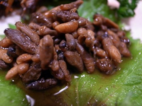 zazamushi kuliner jepang