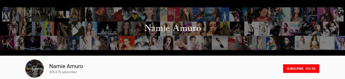 Rumor Mau Berganti Nama, Channel Youtube Nami Amuro Malah Upload Video Musik Berdurasi 1 Menit !
