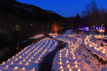 Ingin Coba Wisata Musim Dingin Yang Tradisional Dengan Layanan Onsen Yang Luar Biasa ? Kunjungi Festival Yunishigawa Onsen Kamakura Festival !