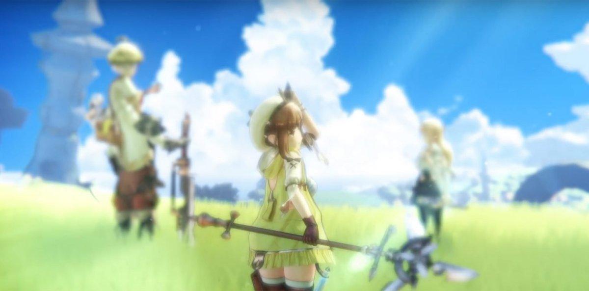 Gust Corporation Luncurkan Teaser Trailer Untuk Serial Gamel Atelier Terbarunya