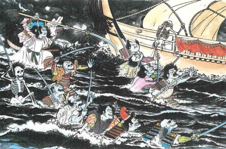 Mitos Hantu Funayurei Yang Berkeliaran Di Lautan Jepang