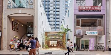Yabashi Arsitek Ciptakan Kafe Dengan Bangunan Unik Dinamai Omoken Park