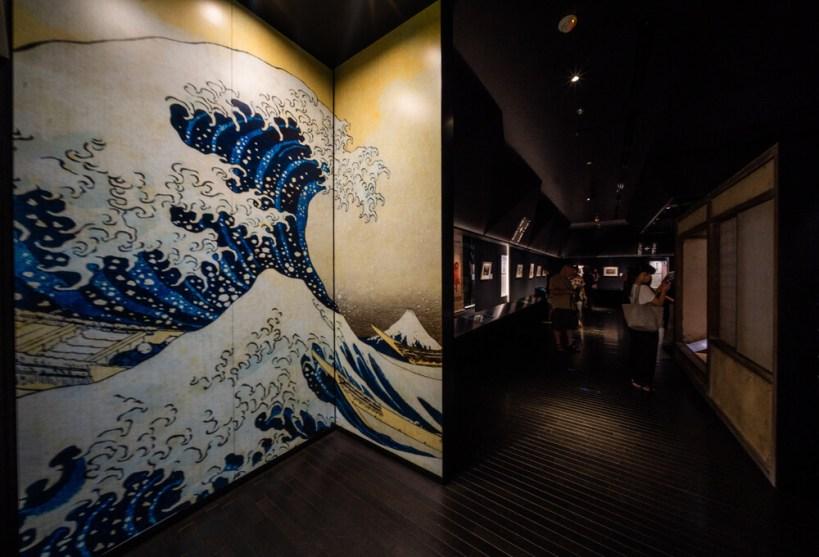 Simak Lebih Dalam Karya Seni Tradisional Ukiyo-e Pada Museum Sumida Hokusai Tokyo