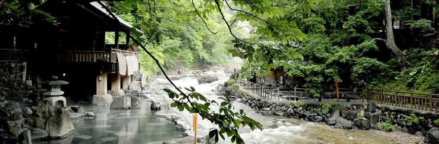 Takaragawa Onsen Osenkaku Hadirkan Wisata Onsen Dan Ryokan Terbaik Dari Kota Minakami