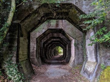 Telusuri Terowongan Misterius Hakkaku Di Pegunungan Misato, Prefektur Kumamoto