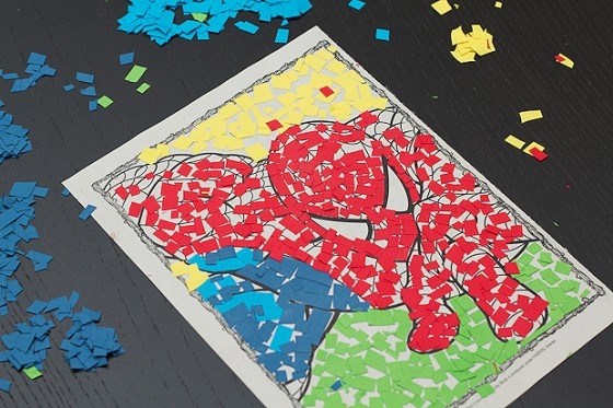 Coloring Book Mosaic Art For Kids Hub