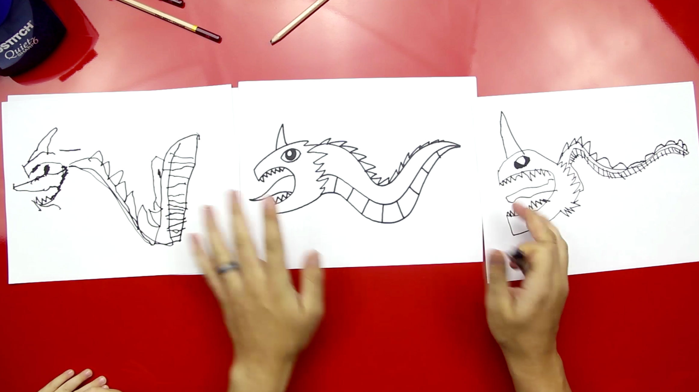 How To Draw A Dragon Art For Kids Hub