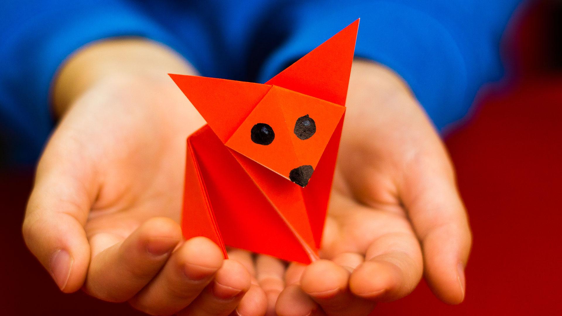 How To Fold An Easy Origami Fox