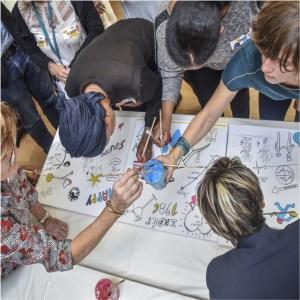 Fresque collective & bien-être au travail