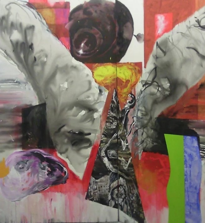 Fokas Yiannis, untitled, acrylic on canvas-mixed media - Artforum Culture Foundation