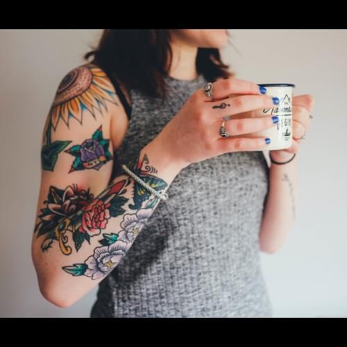 Old school tatuointi
