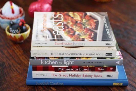 Scandinavian cookbooks