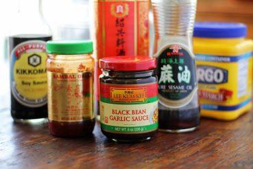 black bean sauce ingredients
