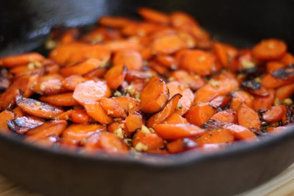 cast iron carrots