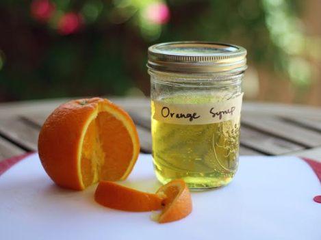orange simple syrup