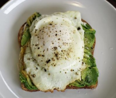 Avocado Egg Toast