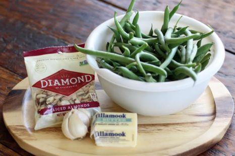 Garlic Green Beans Ingredients
