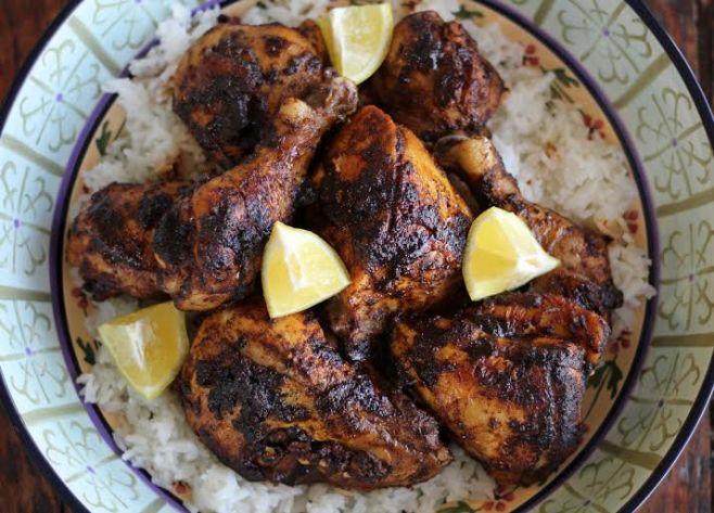 Cast Iron Chicken with Smokey Spice Rub