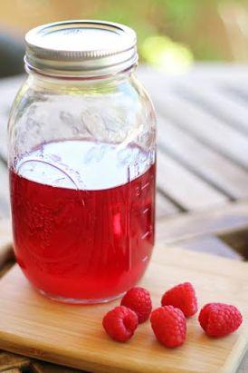 Homemade Raspberry Infused Vodka