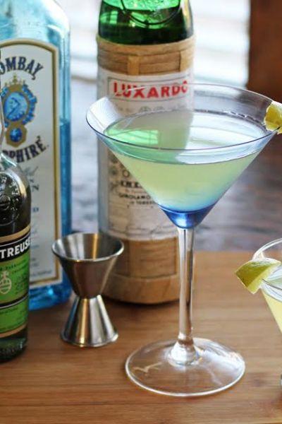 The Last Word Vintage Cocktail