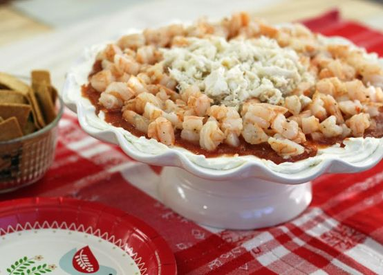 Holiday Seafood Party Dip