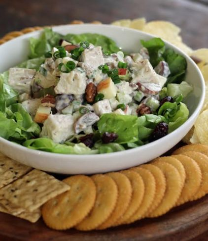 Turkey Pecan Waldorf Salad Artful Dishes