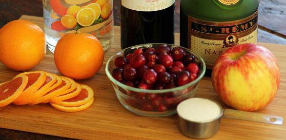 Fruit for Festive Red Wine Sangria Artful Dishes