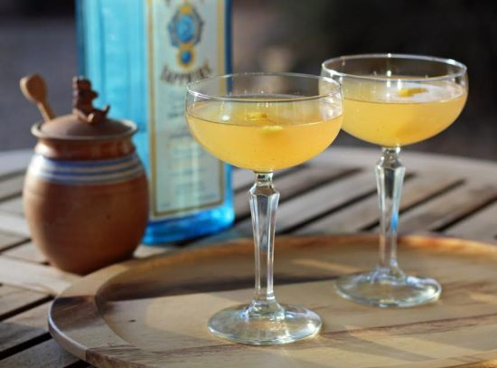 The Bee's Knees Vintage Gin Cocktail Artful Dishes