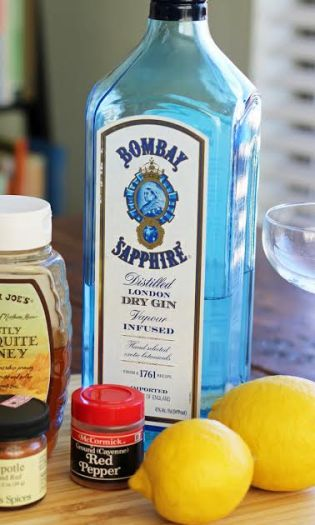 Gin for the Bees Knees Vintage Cocktail Artful Dishes