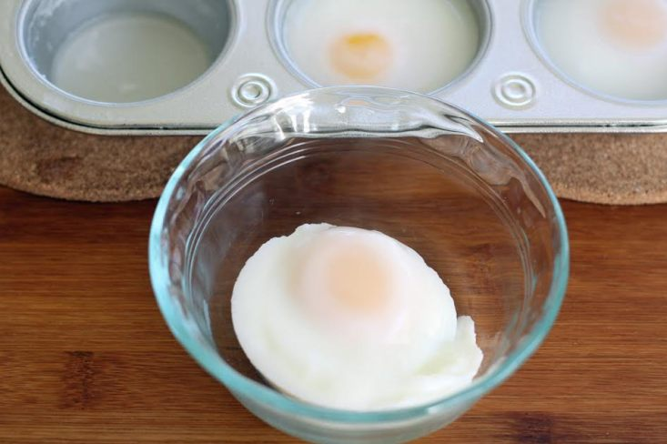 How to Poach Eggs in the Oven - Perfectly Poached Egg | artfuldishes.com